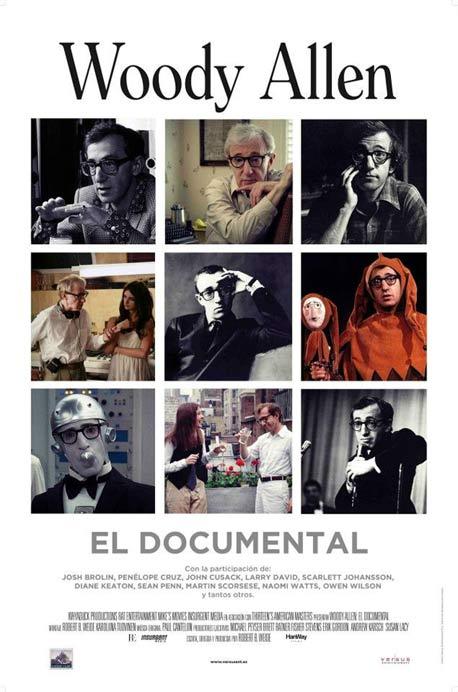 Cartel de Woody Allen, el documental. Imagen propiedad de Surtsey Films