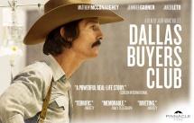 Cartel de Dallas Buyers Club. Imagen propiedad de Pinnacle Films